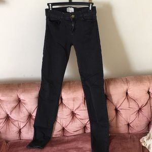 Current/Elliot black skinny jeans